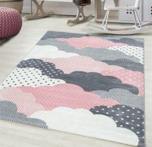 dywaniki dla dzieci w chmurki